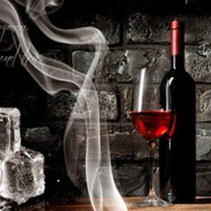 Вино и лед