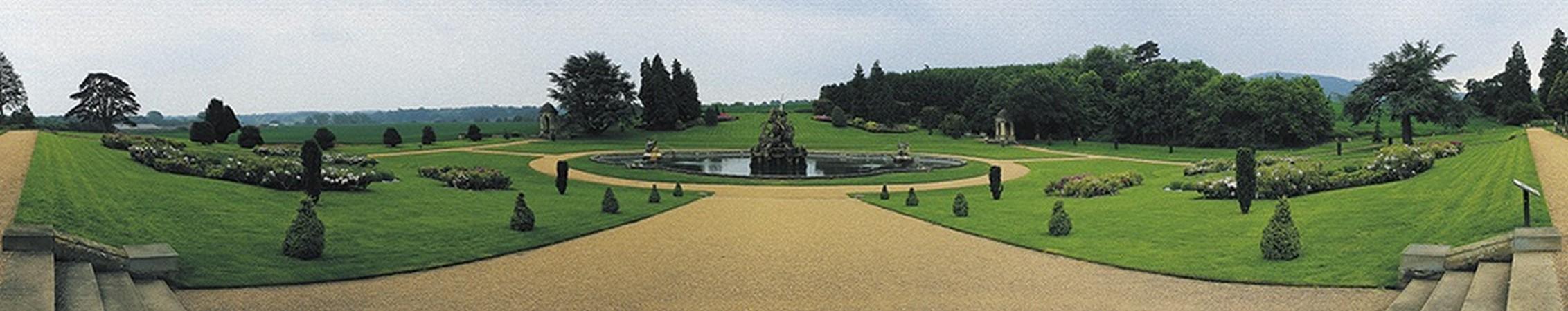 Парк с фонтаном