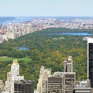 Парк в Нью-Йорке