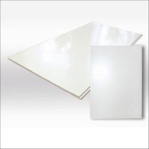 Панель белый глянец 0,25*0,008*2,7 голубой лед