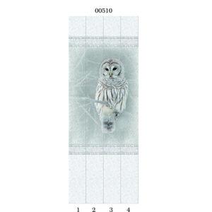 Белые кружева арт.00510 Панно СОВА
